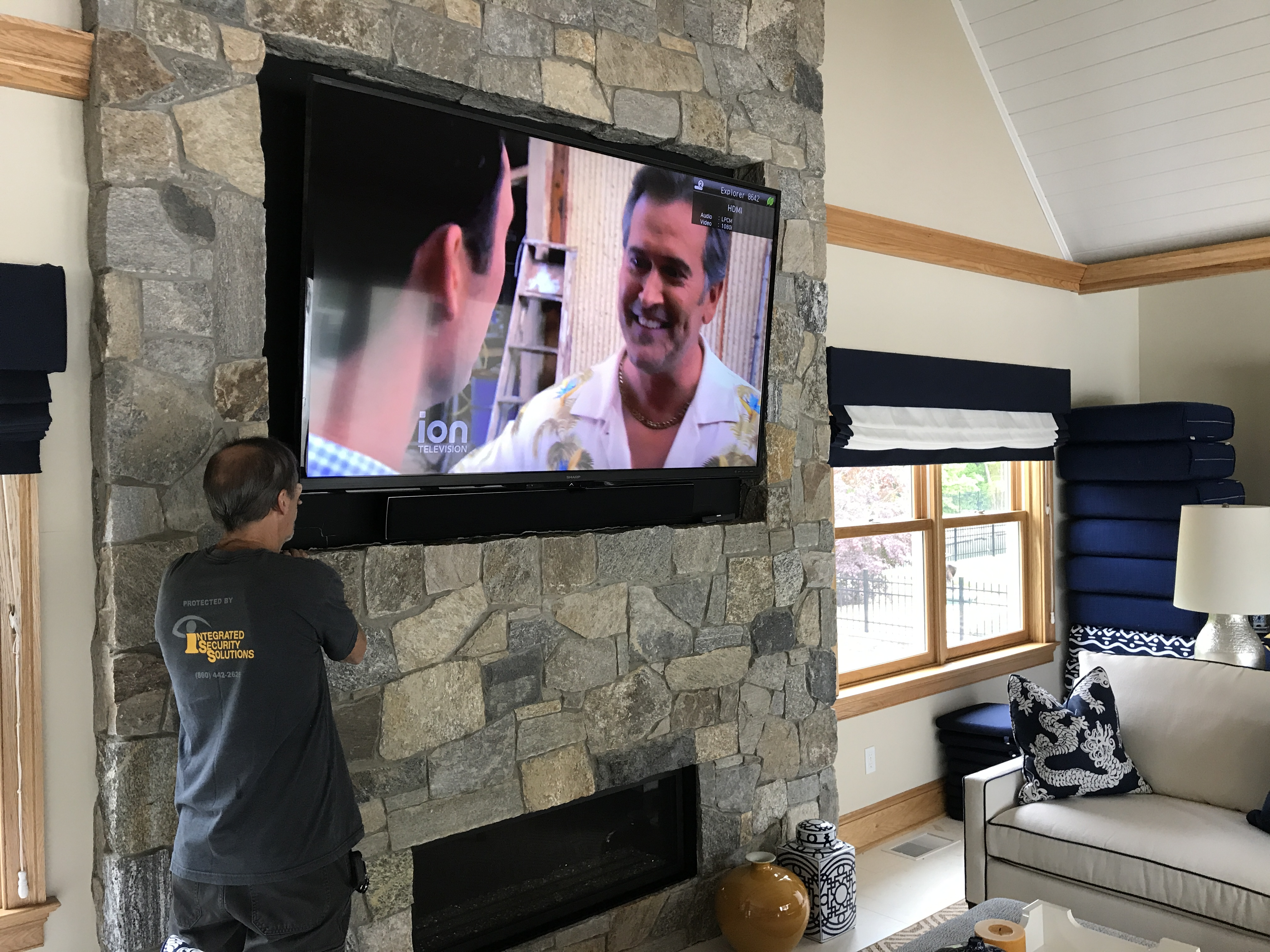 home theater installation company new london county ct